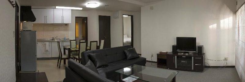 Asuka Apartments Living Area | Lower Hirafu Village