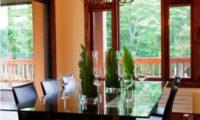 Byakko Dining Area with Crockery | East Hirafu