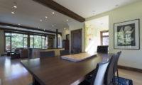 Byakko Kitchen and Dining Area with Wooden Floor | East Hirafu