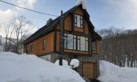 Byakko Outdoor View with Snow | East Hirafu
