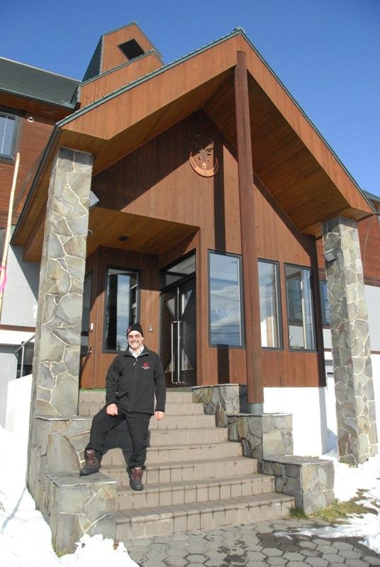 North Field Lodge Entrance | East Hirafu