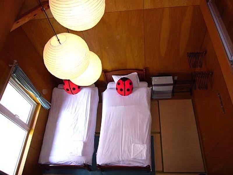 Tirol Apartments Twin Bedroom View | East Hirafu
