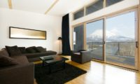 Forest Estate Lounge Area with Wooden Floor   Middle Hirafu