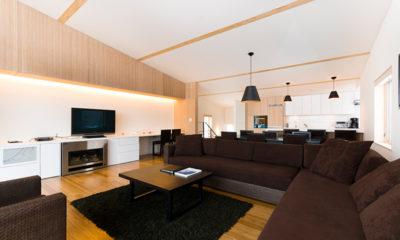 Forest Estate Lounge Area | Middle Hirafu