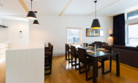 Forest Estate Dining and Kitchen Area with Wooden Floor   Middle Hirafu