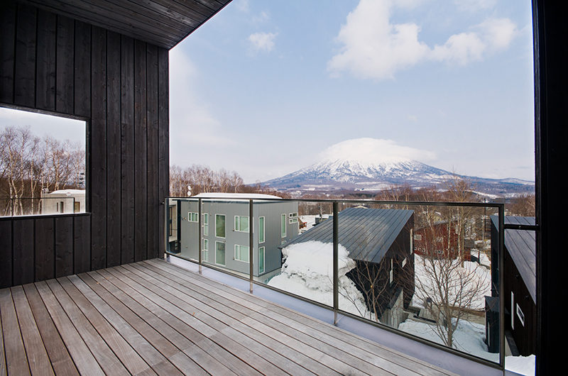 Forest Estate Mountain View from Balcony | Middle Hirafu
