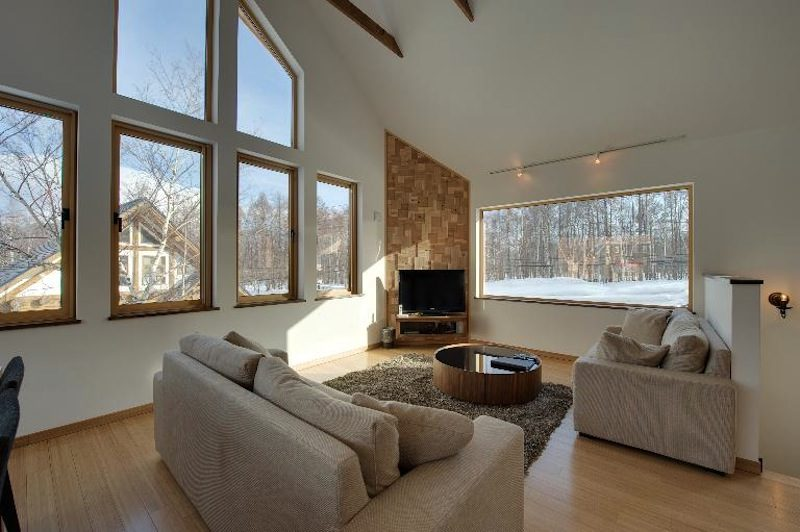 Niseko Hana and Jo Living Room | East Hirafu