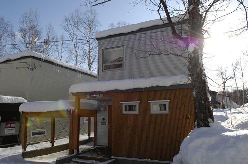 Hirafu House Outdoor Area with Snow   Hirafu Village