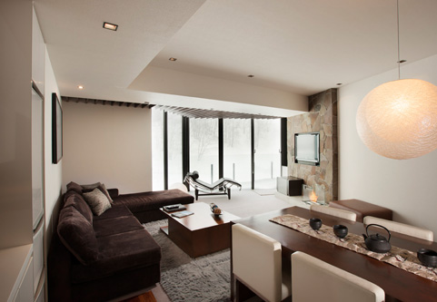 The Vale Niseko Living Area | Upper Hirafu