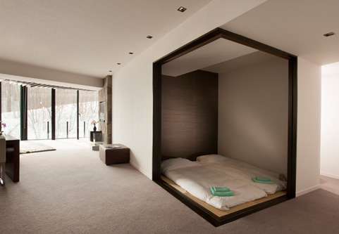 The Vale Niseko Bedroom View | Upper Hirafu