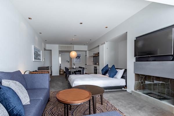The Vale Niseko One Bedroom Apartment Bedroom with Sofa | Upper Hirafu