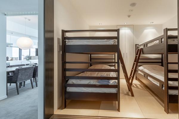 The Vale Niseko Two Bedroom Resort Bunk Beds | Upper Hirafu