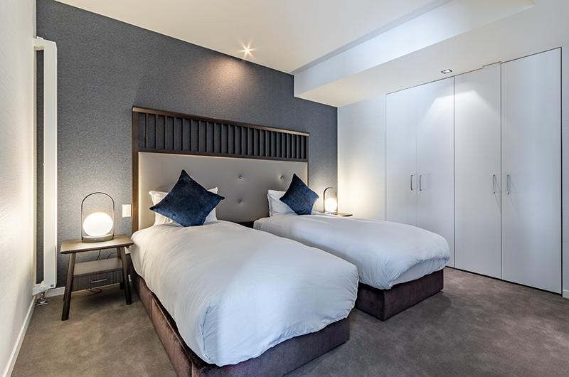 The Vale Niseko Two Bedroom Apartment Twin Bedroom | Upper Hirafu