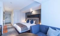 The Vale Niseko Three Bedroom Apartment Bedroom with Sofa | Upper Hirafu