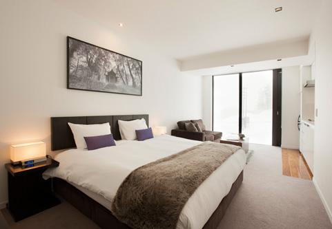 The Vale Niseko Bedroom with Carpet | Upper Hirafu