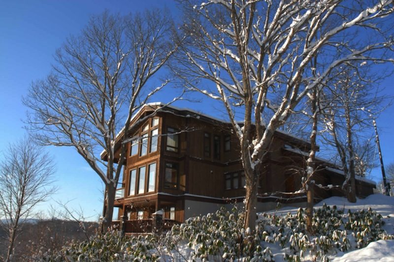 Zekkei Outdoor View with Snow | Lower Hirafu