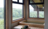 Zekkei Bathroom with Bathtub | Lower Hirafu