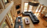 Asahi Lodge Living Area Top View | Izumikyo 3