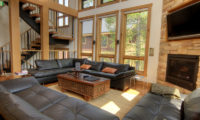 Asahi Lodge Living Area with Up Stairs | Izumikyo 3