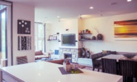 Big Valley Indoor Living and Dining Area with TV | Lower Hirafu