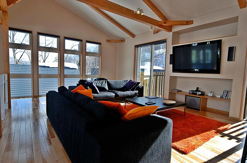 Casi 67 Living Area with TV | Lower Hirafu