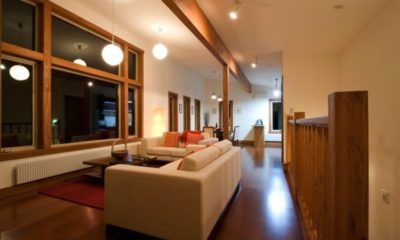 Cocoa Living Area | Lower Hirafu