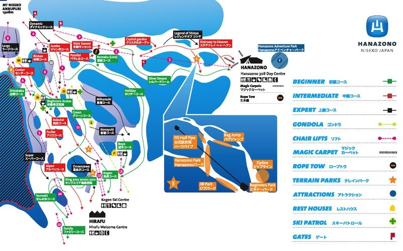niseko-hanazono-course-map