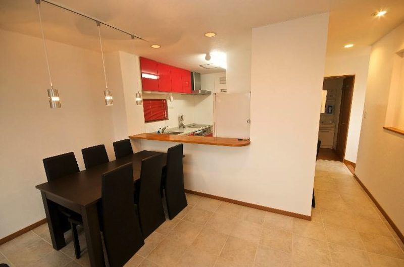 Hurry Slowly Condominiums Kitchen and Dining Area | Lower Hirafu