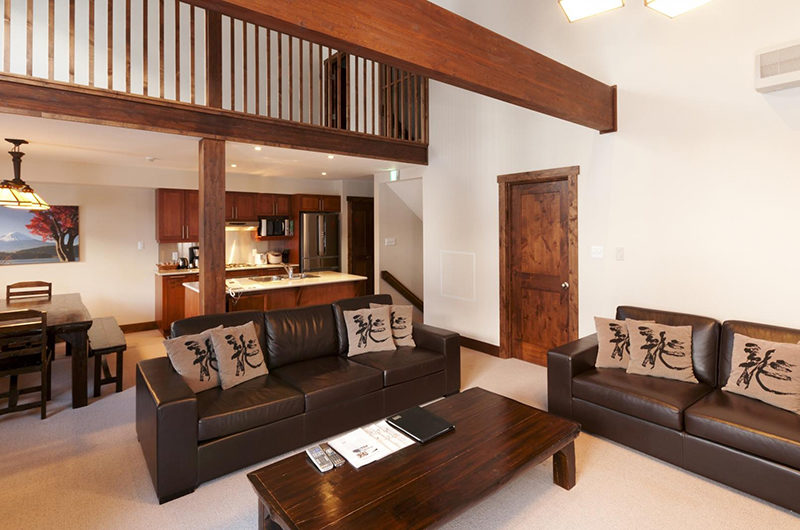 Ishi Couloir Ishi Couloir A Living, Kitchen and Dining Area | East Hirafu