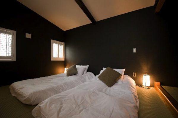 Kimamaya Boutique Hotel Twin Bedroom | Middle Hirafu Village