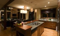 Latitude 42 Kitchen Area with Wooden Floor | Lower Hirafu