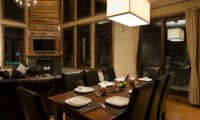 Latitude 42 Dining Area with Wooden Floor | Lower Hirafu
