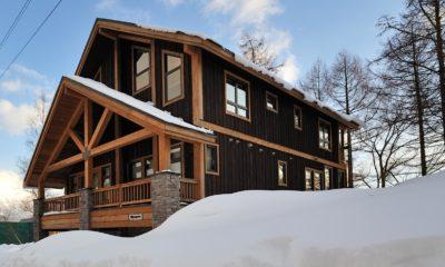 Mangetsu Lodge Outdoor Snow | East Hirafu