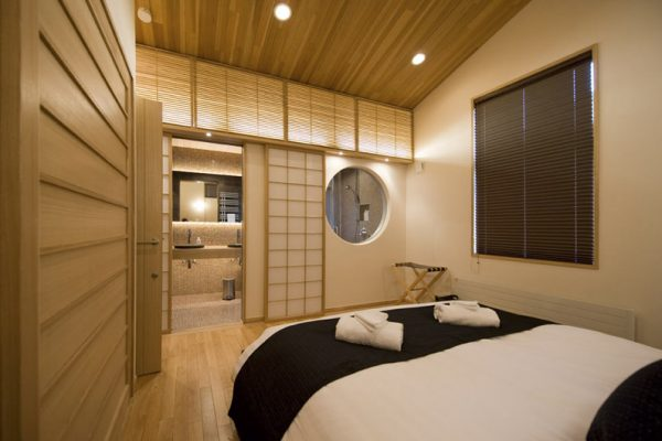 Miyabi Bedroom and His and Hers Bathroom | Lower Hirafu