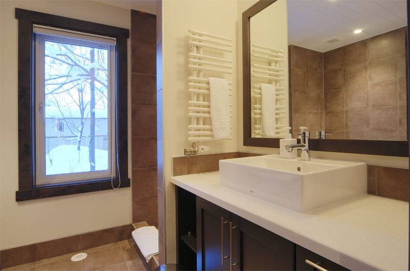 Mojos Bathroom with Mirror | Lower Hirafu