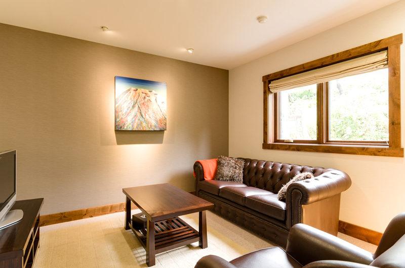 Old Man Creek TV Room with Sofa | East Hirafu