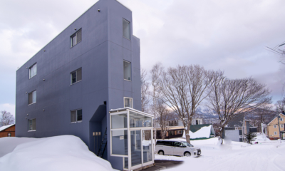 Sakura Apartments Exterior | Lower Hirafu