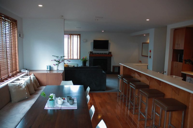 Seizan Living Dining and Kitchen with TV | Middle Hirafu
