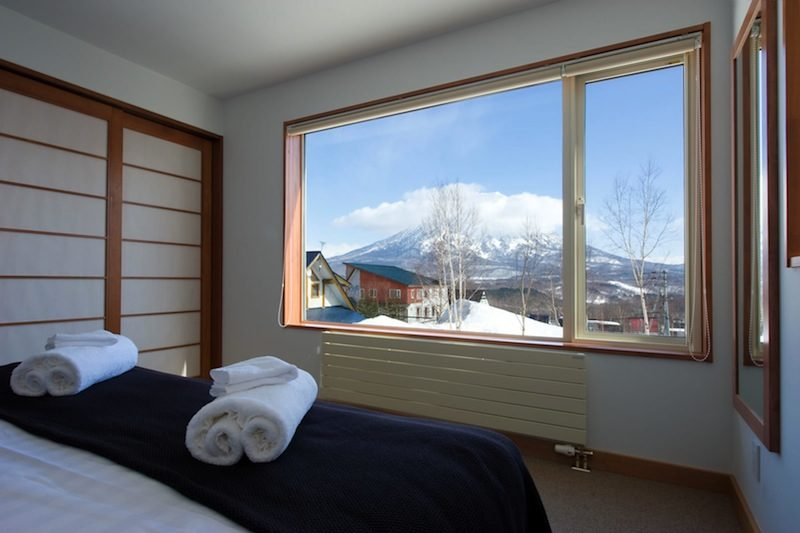 Seizan Bedroom with Mountain View | Middle Hirafu