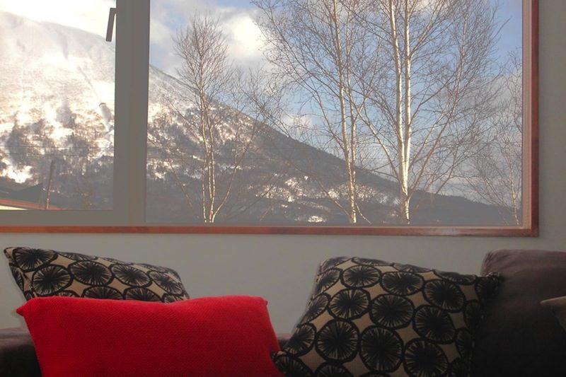 Seizan Mountain View from Window | Middle Hirafu