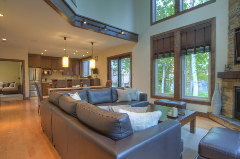 Shika Living Area with Wooden Floor | East Hirafu