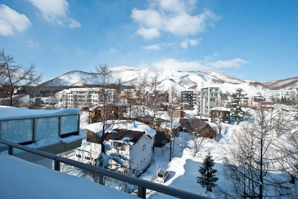 Shiki Niseko Mountain View from Balcony | Upper Hirafu