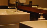 Tsuru His and Hers Bathroom | East Hirafu