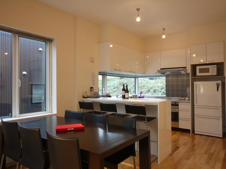 Horizon Townhouses Kitchen and Dining Area | Lower Hirafu
