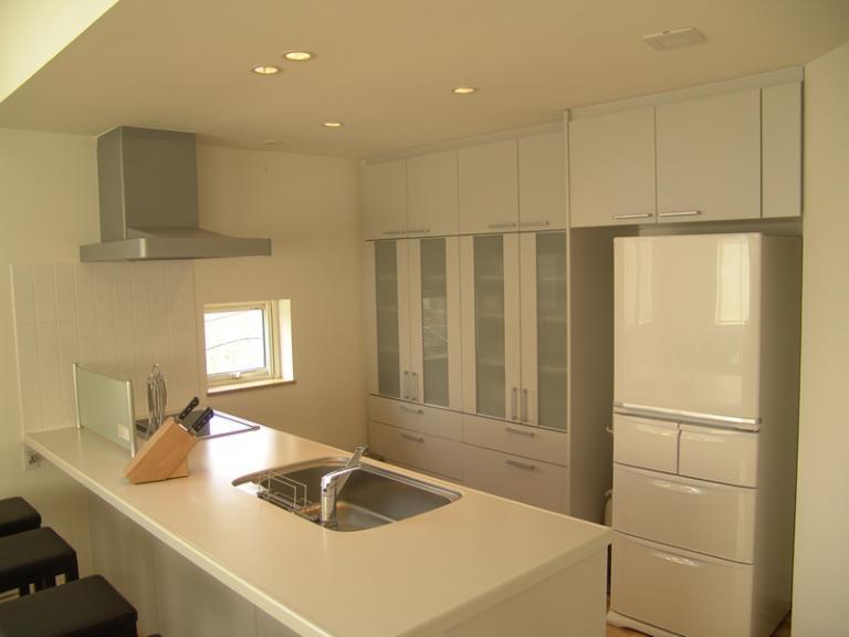 J House Kitchen Area | Lower Hirafu