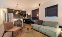 Kira Kira Kitchen and Living Area | Upper Hirafu