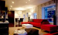 Kira Kira Living Area with TV | Upper Hirafu