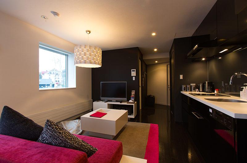 Kira Kira Lounge with TV | Upper Hirafu