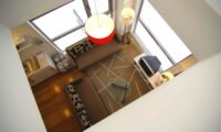 Miharashi Apartnments Living Area Top View | Upper Hirafu