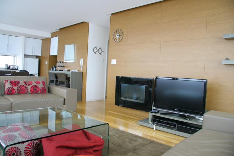 Yama Shizen Living Area with TV | Upper Hirafu